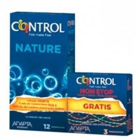 Presevativos Control Adapta Nature 12u + Regalo 3u Non Stop