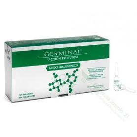 GERMINAL ACCION PROFUNDA ACIDO HIALURONICO1 ML 30 AMPOLLAS