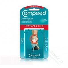 COMPEED AMPOLLAS INVISIBLES HIDROCOLOIDE 5 U
