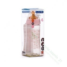 BIBERON 0 BPA PP BOCA ANCHA T LATEX ANATOMICA SUAVINEX 360 CC + T2 L