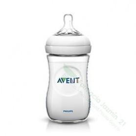 BIBERON 0 % BPA TETINA PP PHILIPS AVENT PREMIUM 260 ML