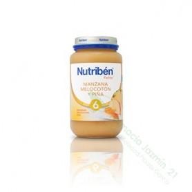 NUTRIBEN MANZANA MELOCOTON Y PIÑA POTITO GRANDOTE 250 G