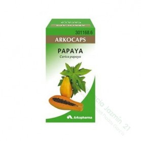 PAPAYA ARKOCAPSULAS 300 MG 50 CAPSULAS