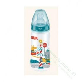 BIBERON 0 BPA PP SILICONA NUK FIRST CHOICE 300 CC LECHE T-1 M