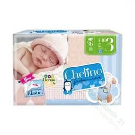 Chelino Pañal Infantil T-3 (4-10 Kg)
